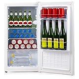 PRIMO PR112FR Réfrigérateur Table Top, 61L, Classe E, 82 kWh/an, 40 dB, Porte Réversible, Blanc