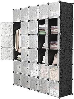 LANGRIA 30-Cube DIY Modular Shelving Storage Organizer...