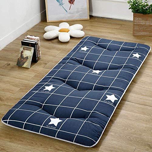 A/N Alebaba Studenten Tragbare Verdickungsmatratze Tatami Bodenmatte, Schlafsaal Klappmatratze Für Home Camping (D,80x190cm(31x75inch))