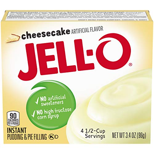 Jell-O Instant Cheesecake Pudding & Pie Filling (3.4 oz Box)
