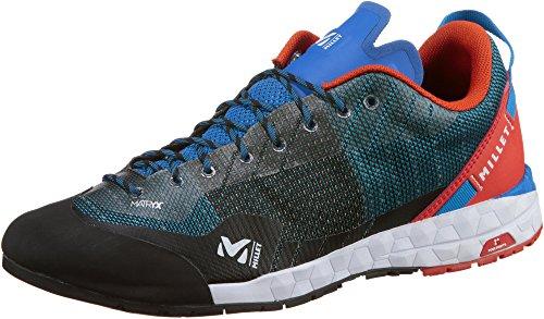 MILLET Amuri M, Walking Shoe Unisex-Adulto, Electric Blue/Orange, 42 EU