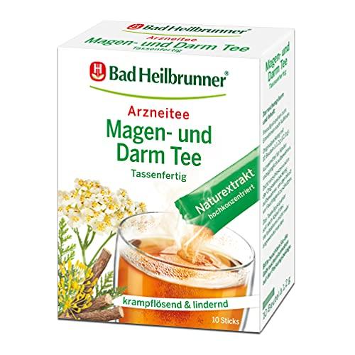 Bad Heilbrunner Magen- und Darm Tee im Stick, Tassenfertig, 8er Pack (8 x 10 Sticks)