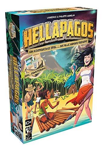 Asmodee GIGD0009 Hellapagos - inklusive Erweiterung