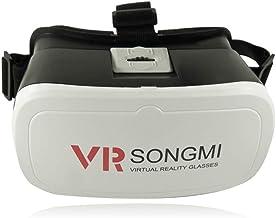 AOOK SONGMI Series 3D VR Auriculares de Realidad Virtual, Gafas VR para 360 Grados inmersivos vídeos/películas/Juegos en 4-5.7