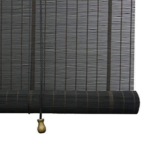 SWB Blinds Veneciano Cortinas de bambú, Cortinas, ventilación de Mosquitos, Cortinas de protección Ambiental, 3 Estilos, Varios tamaños se Pueden Personalizar (Color : C, Size : 140x180cm)