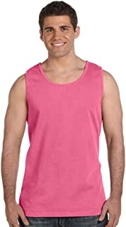Pigment Dyed Tank Top 9360-Chambray