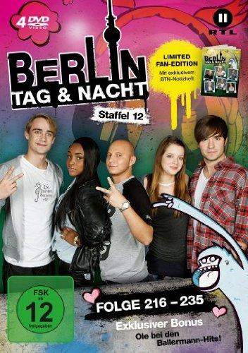 Berlin - Tag & Nacht, Vol. 12: Folgen 216-235 (Fan Edition) (4 DVDs)