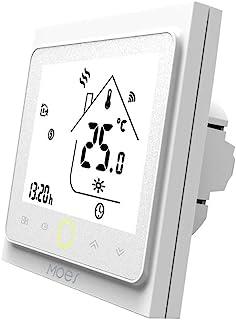 MOES Termostato inteligente WiFi Controlador de temperatura Smart Life APP Control remoto para calefacción eléctrica Funci...