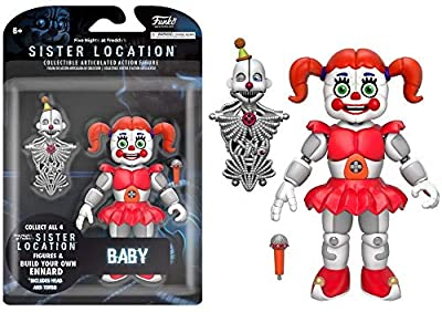 """Funko Five Nights at Freddy's Baby Articulated Action Figure, 5"""""""