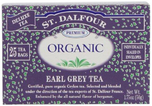 St Dalfour Organic Earl Grey Tea