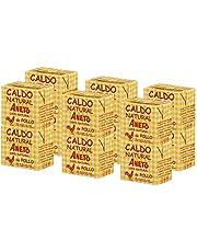 Aneto 100% Natural - Caldo de Pollo - caja de 12 unidades de 500ml
