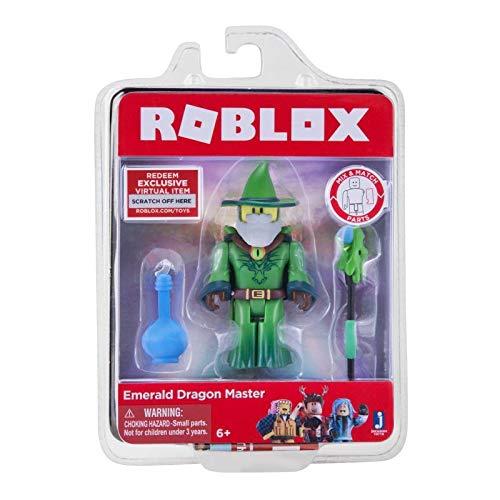 Roblox Activityspirale Dackel BabyGlück Smaragd Dragon Master Figur Spielset