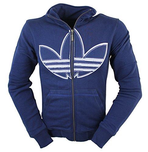 adidas Originals - Sudadera con Capucha - para Hombre Azul añil X-Small