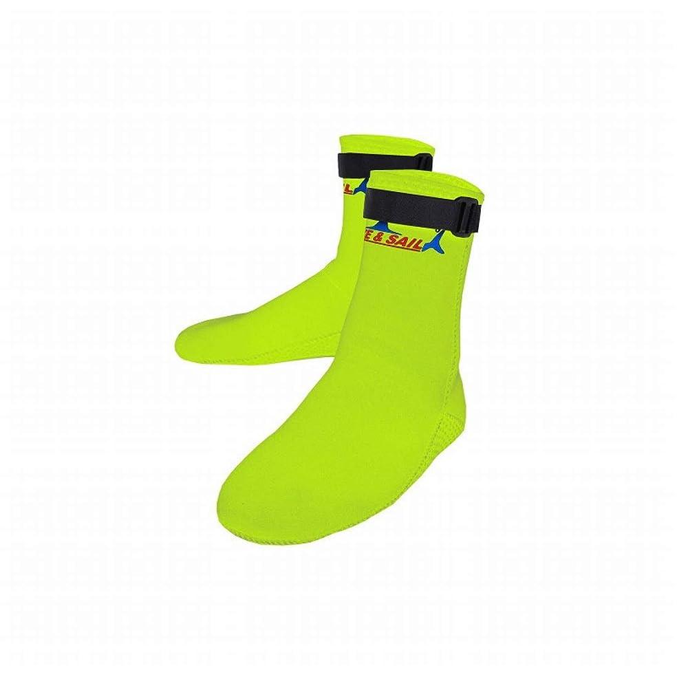 不調和日付付きまとめるJOYS CLOTHING 3MMダイビングソックス男性と女性のネオプレンビーチサーフィンシュノーケリングソックス暖かい冬の冷たい水泳ソックス (Color : Fluorescent, Size : M)