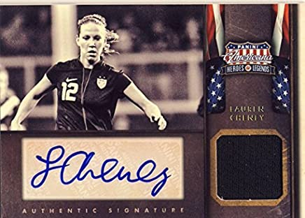 Women/'s Soccer #68 Heroes Legends 2012 Panini Americana Lauren Cheney U.S