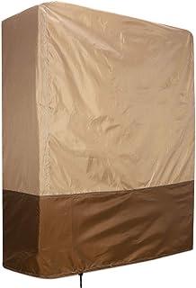 Funda protectora contra el polvo QEES JJZ12 para cama plegable en tela no tejida gruesa y resistente para uso doméstico y hospitalario, beige, 80L*30W*95H CM