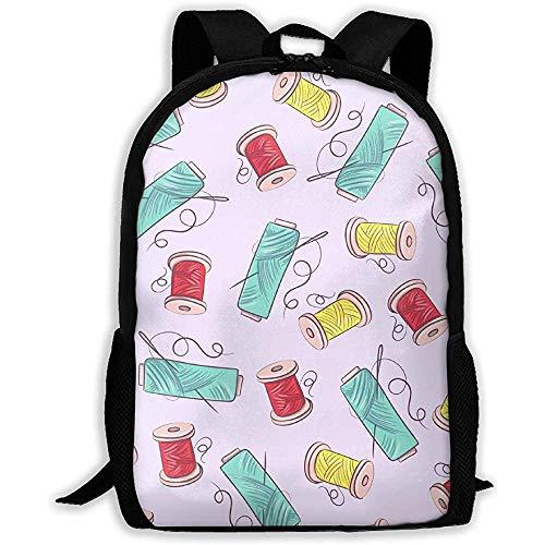 Schnittmuster Unisex-Rucksack für Erwachsene, Schulranzen für Sportbücher, robuste College-Laptop-Computer-Umhängetaschen, leichte Reisetaschen