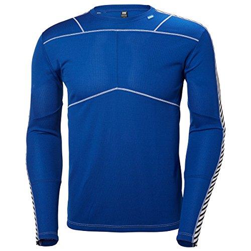 Helly Hansen HH LIFA Crew Camiseta Deporte, Hombre, Azul, XX-Large (Tamaño del Fabricante:2XL)