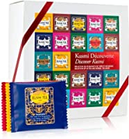 Kusmi Tea - Coffret Kusmi Découverte - Assortiment de Thés Noirs, Thés Blancs, Thés Verts et Infusions - 45 Sachets...