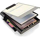 Officemate Recycled Double Storage Clipboard/Forms Holder, Plastic,...