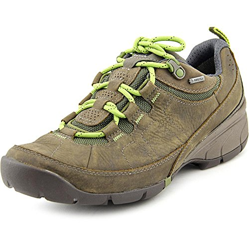 Clarks Womens Wave.Amble GTX Lace Up Outdoor Shoes,Brown,6
