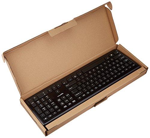 AmazonBasics Wired Keyboard (Black)