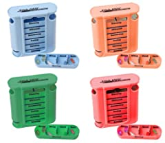 Tablettenbox 4er Set