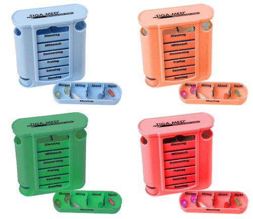 Tiga-Med Tablettenbox 4er Set Bild