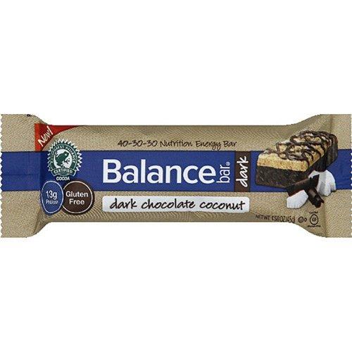 Balance Bar Nutrition Energy Bar, Dark Chocolate Coconut, 15 Count