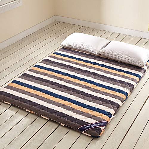 YLCJ Tatami-matras, opvouwbaar, voor de Japanse zomer, met een capaciteit van 1,2 m, voor bed Pad-A, 120 x 200 cm