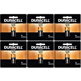Duracell DL123ABU 3V Ultra Lithium Battery - Value Pack of 6