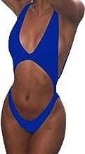Viottiset Women's Bandage Cutout High Cut One Piece Swimsuit
