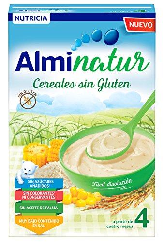 Alminatur Papilla de cereales sin gluten a partir de los 4 meses...