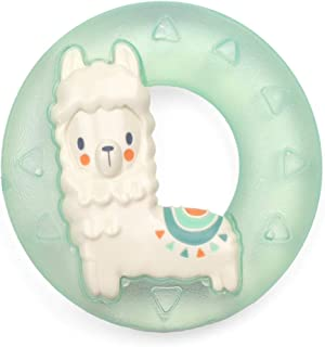 Itzy Ritzy Water-Filled Teether; Cute 'N Cool Llama Water Teether is Textured on Both Sides to Massage Sore Gums; Can Be Chilled in Refrigerator, Llama
