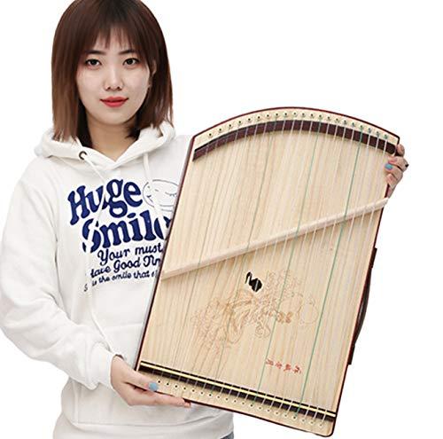 Guzheng 21-saitige Griffübung, tragbar