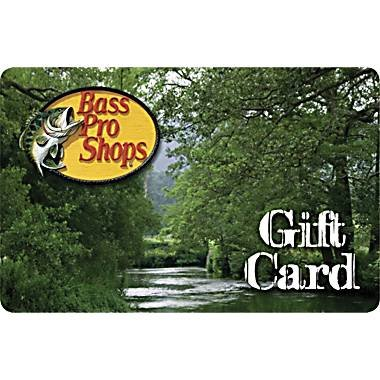 Bass Pro Shops - Gift Card $25