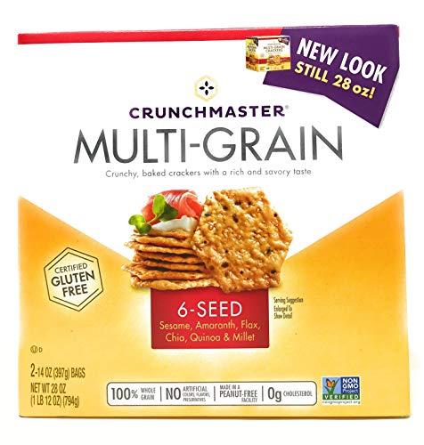 Crunchmaster Multi-Grain 6 Seed Cracker - 28 oz