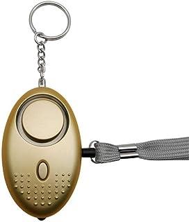 fengzong Persoonlijk Alarm voor Vrouwen 140DB Emergency Zelfverdediging Alarm Sleutelhanger met LED Licht voor Vrouwen Kin...