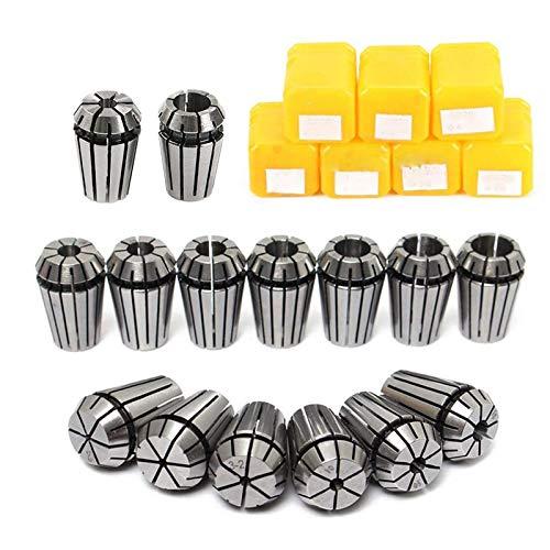 ER11 Spannzangen-Set, 13 Stück, ER11 Spannzangen-Spannzange, CNC-Spindel, ER-11 Spannzange, Drehmaschine, Werkzeughalter von 7 mm für CNC-Frässchäumen