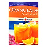 Healthwise - Orangeade Diet Fruit Drink | Healthy Protein Drink, Appetite Suppressant | High Protein, Fat Free, Low Carb, Low Calorie, Sugar Free (7/Box)