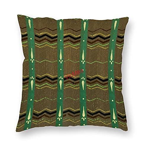 VinMea Funda de almohada decorativa patrón especial 75 fundas de cojín para sofá, dormitorio, hogar, oficina, decoración de 45 x 45 cm