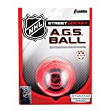 Franklin AGS Super High Density 12219 - Palla da Hockey su Strada, Colore: Rosso