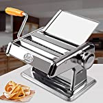 FREE-DHL-ShipStainless-Steel-Noodle-Noodles-Pasta-Dough-Press-Cutter-Machine-Maker