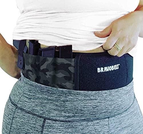 BRAVOBELT Belly Band Holster for Concealed Carry - Athletic...