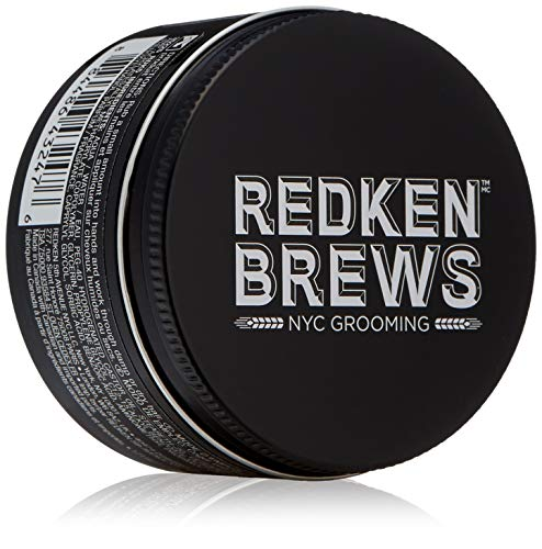 REDKEN Brews High Hold Pomade For Men, Extreme High Hold, Shine Finish, 3.4 Fl. Oz.