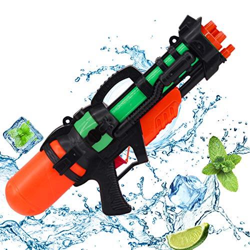 Sunshine smile Wasserpistole Spielzeug,Pool Groß Wasserspritzpistolen mit 6-8 m Reichweite für Kinder Erwachsene,Water Blaster für Sommer Party Pool Wasserschütze, Garten Strandspielzeug