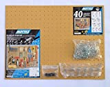 Dicoal - Kit panel perforado/multiganchos(blister)