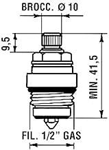 Cartucho ceramico para grifos DOJA Industrial Cartuchos Diametro di/ámetro/¸ 47 mm