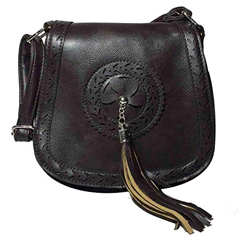 Vintage Cross Body Handbag (Black)