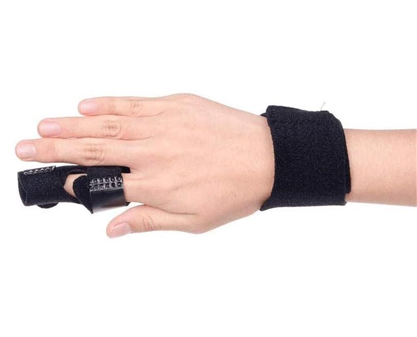 テナント水銀の直面するベルトリリースや痛みを固定アジャスタブル - 中指、薬指、人差し指ブレースについてインソールフィンガースプリントを指